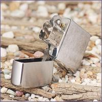 Зажигалка Zippo 162 brushed chrome Heavy Wall Armor