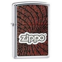 Фото Зажигалка Zippo 24804 WAVES HIGH POLISH CHROME