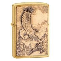 Фото Зажигалка Zippo 20854 WHERE EAGLESS DARE