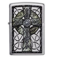 Фото Зажигалка Zippo 200 Сeltic Cross Design 29622