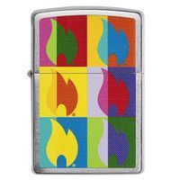 Фото Зажигалка Zippo 200 Abstract Flame Design 29623