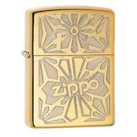 Фото Зажигалка Zippo 28450 Ornament High Polish Brass
